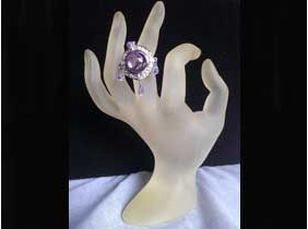 "Anello ""Violet"" in Argento 925%"