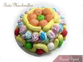 TORTA DI MARSHMALLOW Caramelle Gommose 450 Gr.