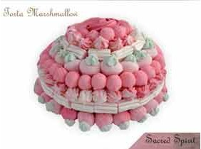 TORTA DI MARSHMALLOW Caramelle Gommose 1KG